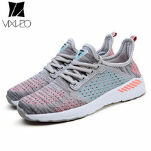 VIXLEO Unisex Running Shoes Breathable Male Sneakers Zapatillas Deportivas Super Light Trainer Athletic Sport Shoes size 36-46