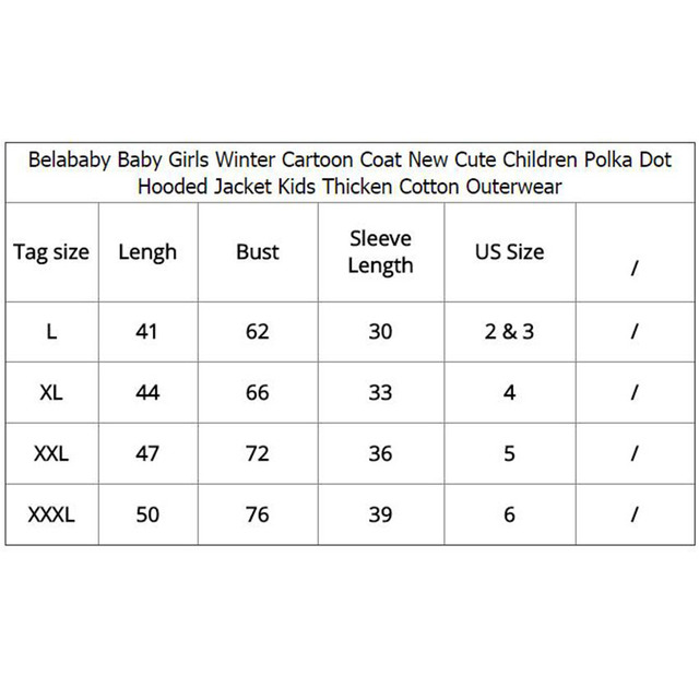 Baby Girls Coat Cartoon Jackets