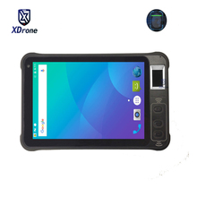 China Fingerprint Recognition Reader Access Control Android 8.1 Attendance System Waterproof 1280x800 2D Barcode Scanner PDA GPS