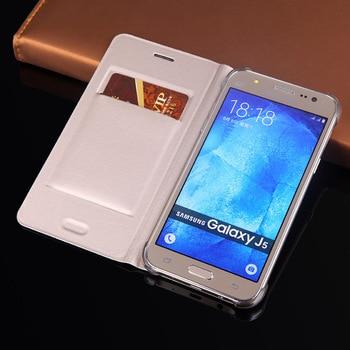 Flip Cover Wallet Leather Phone Case For Samsung Galaxy J5 2015 GalaxyJ5 J 5 SM J500 J500F J500H J500A J500M SM-J500F SM-J500FN for samsung galaxy j5 lcd for samsung j5 j500 j500f j500fn j500y j500m adjustable lightness lcd display touch screen digitizer