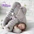 Adereços fotografia de Recém-nascidos QUENTE Travesseiro Elefante Nariz Longo Travesseiro Boneca de Pelúcia Macia Brinquedos Coisas Lombar Travesseiro Do Bebê para Crianças