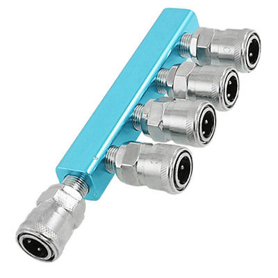 все цены на Pneumatic Tubing 5-way Knurled Socket Multi Pass Quick Couplers онлайн