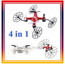 Dwi Dowellin MIni Drone 668-Q4 RC Quadcopter 4CH 6 Axis 2.4G Mini Remote Control Helicopter 2 Colors 4 in 1 with Headless Mode