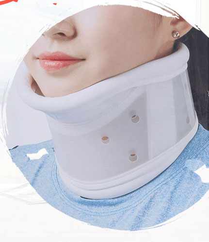 Three-layer inflatable cervical traction device for home medical correction neck treatment cervical spondylosis cervical neck te adult cervical traction apparatus inflatable support fixed tuohu neck with neck stretching his neck