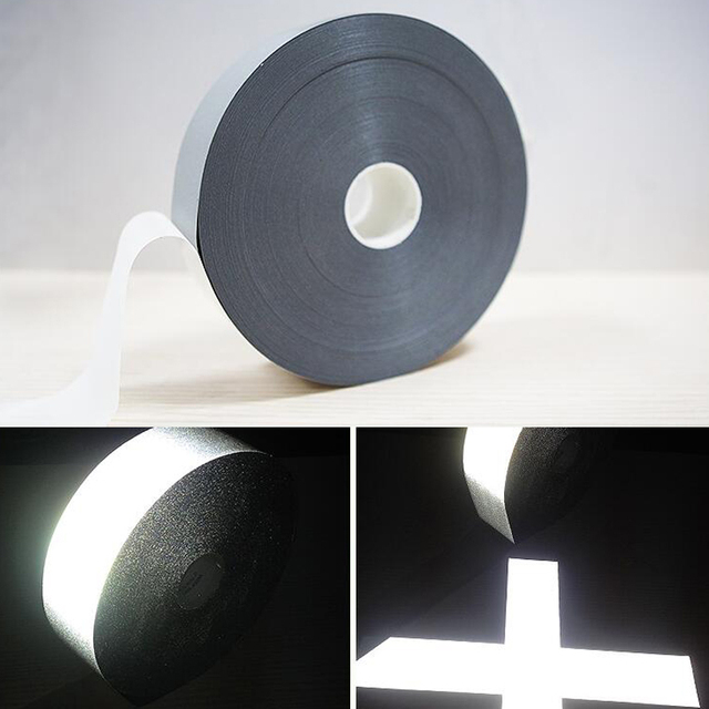 3M Safety Reflective Heat transfer Vinyl Film DIY Silver Iron on Reflective Tape For Clothing