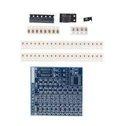 SMT SMD Component Welding Practice PCB Board Soldering Solder DIY Suite Kit UE