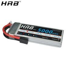 HRB 3S 11,1 V Lipo батарея 5000mah TRX T Deans XT60 XT90 EC5 50C для Slash 4X4 TRX-4 гусеничный автомобиль FPV Самолет Дрон лодка RC запчасти