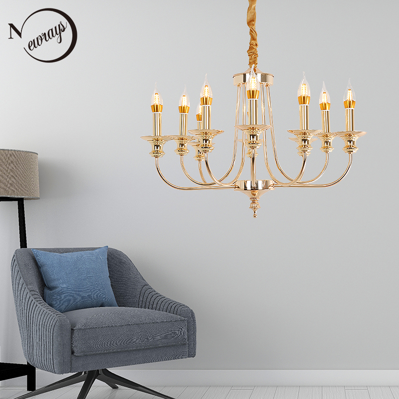 Industrial retro candle pendant light LED E14 modern Royal hanging lamp for living room bedroom hotel restaurant loft lobby cafe