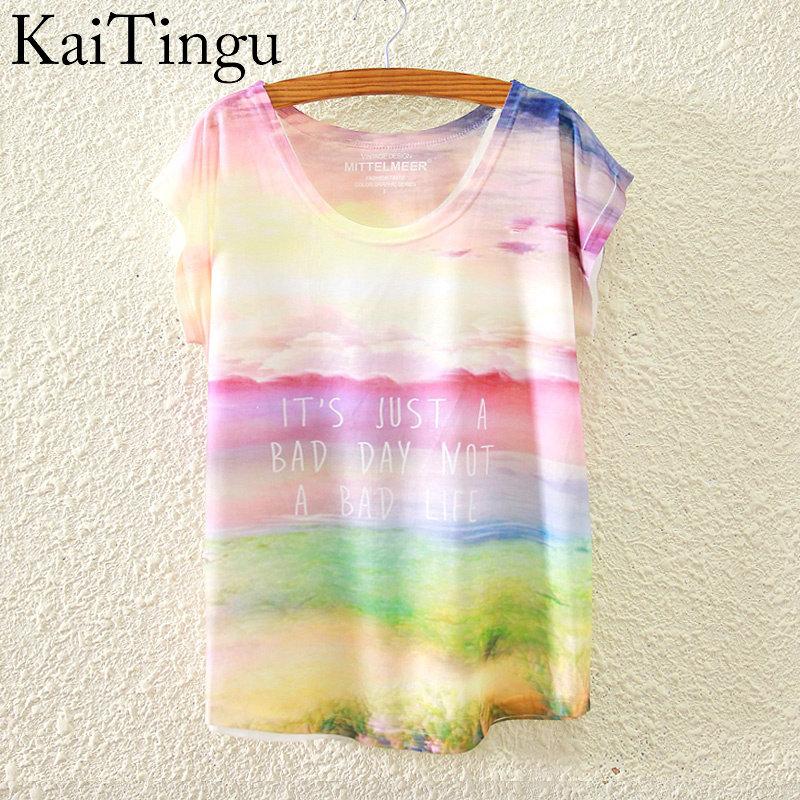 HTB15hlEKVXXXXbqXpXXq6xXFXXX6 - New Fashion Short Sleeve T Shirt Women Tops Eiffel Tower Printed T-shirt