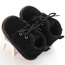 CHAMSGEND Toddler Baby Prewalker Crib Shoes 2017 Hot Infant Snow Boots Shoes Rubber Sole Sep20 Drop shipping