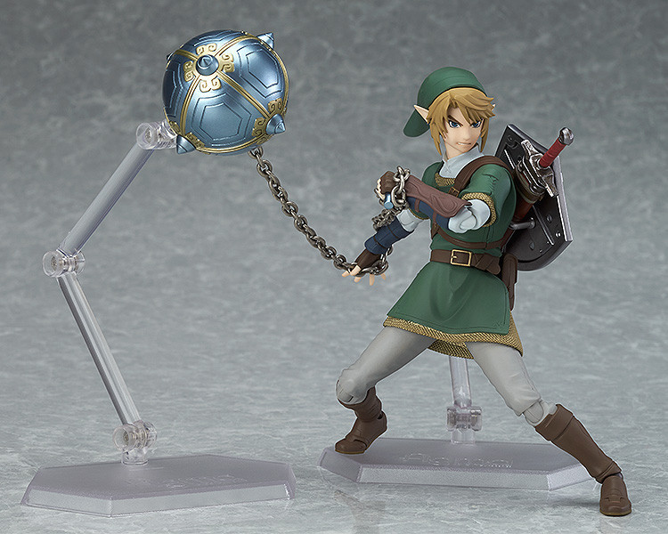 The Legend of Zelda Skyward Sword Link Figma 320 Deluxe Version PVC Action Figure Brinquedos Figuras Anime Collectible Kids Toys japanese anime brinquedos fairy tail gray fullbuster the 2nd ver juguetes pvc action figure kids toys figuras anime collectible