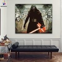 Peinture à numéros Star Wars Darth Vader La guerre des étoiles 2