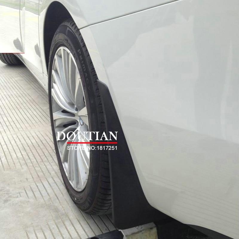 Mud Flaps Splash Guards Cover Car mudguards Fenders Splasher Mudflap for BMW 5 Series GT F07 2010 2014 2015 Car Accessories 6PCS все цены