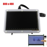 7 Inch 800x480 TFT LCD HDMI Capacitive Touch Display With Acrylic Stander Bracket For Raspberry Pi