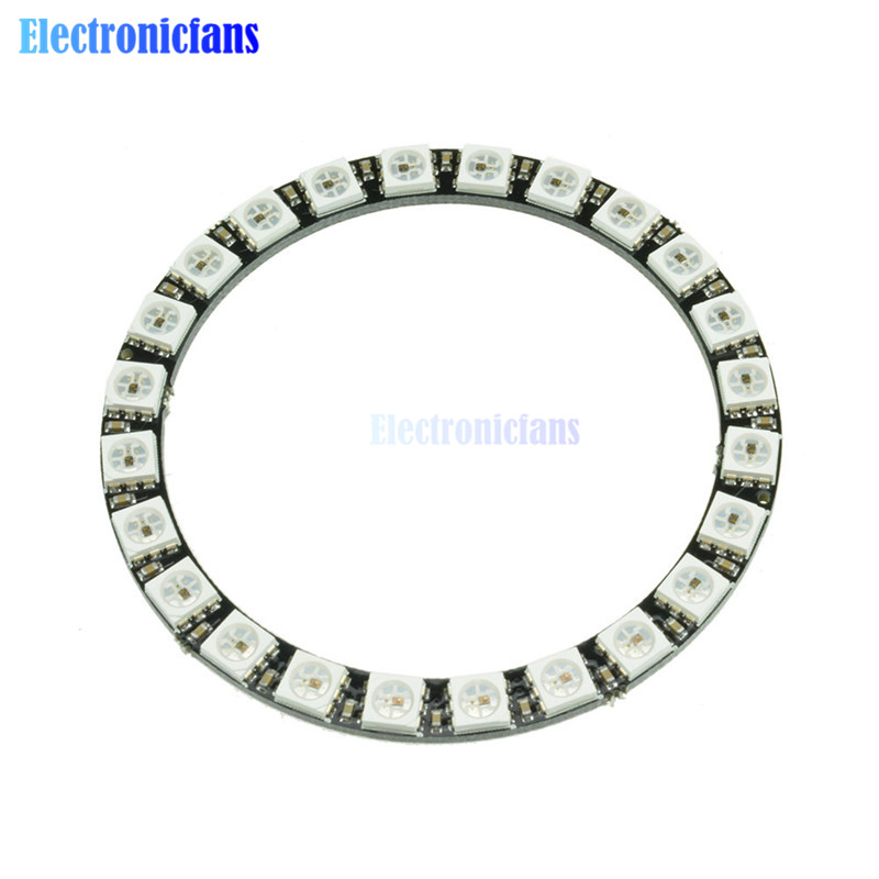 Active Components Logical Ws2812b 4*4 16-bit Full Color 5050 Rgb Led Lamp Panel Light For Arduino Wholesale To Suit The PeopleS Convenience