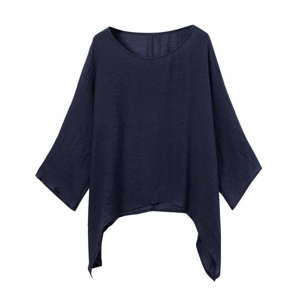 Più il Formato 5X Estate 2019 T Delle Donne Della Camicia Streetwear T Shirt Vintage Irregolare Allentato Coreano Donna di Grandi Dimensioni Vestiti camisa feminina