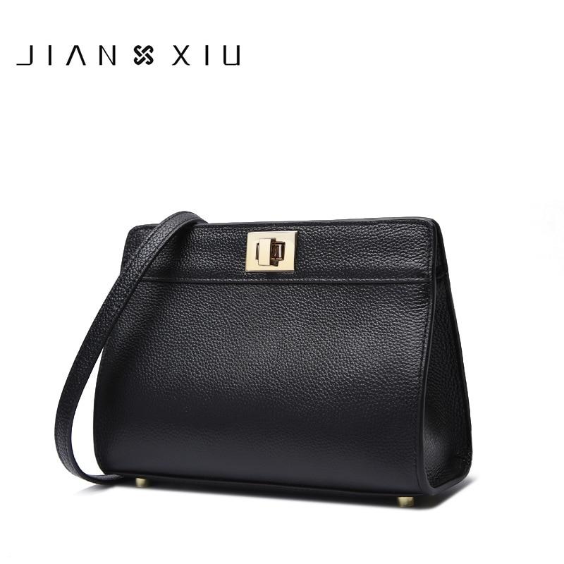 IANXIU Brand Women Messenger Bags High Quality Genuine Leather Shoulder Crossbody Bag 2017 New Fashion Carteras Mujer De Hombro женский комбинезон brand new 2015 monos largos de mujer 140409