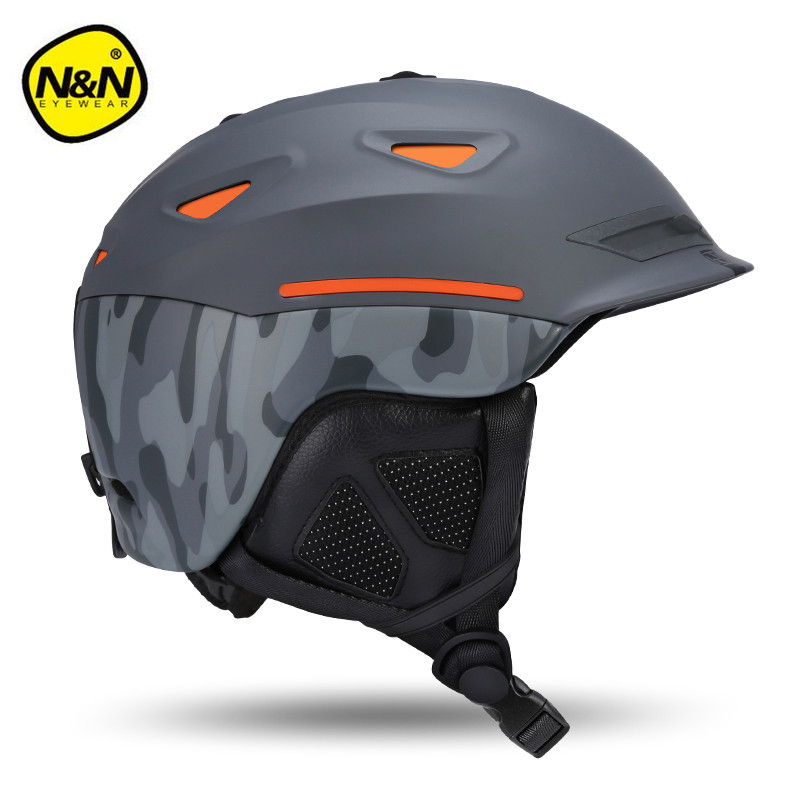 Nandn Brand EPS+ABS Ski Helmets Cover Motorcycle Skiing Helmets Hats adult Men Women Skiing Snow Sports Skating Safety Helmets pink ski helmets cover motorcycle skiing helmets best outdoor safety helmet for skiing snowboard skating adult men women