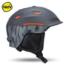 Nandn Brand EPS+ABS Ski Helmets Cover Motorcycle Skiing Helmets Hats adult Men Women Skiing Snow Sports Skating Safety Helmets