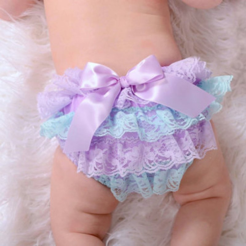 Best Sales Lovely Sweet Baby Skirts Toddler Baby Girls Lace Ruffle Shorts Bloomers Nappy Cover Tutu Shorts Bottoms Skirts