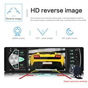 Image 5 - Amprime Kit multimídia automotivo 4022D com controle remoto, 4,1 polegadas, 1 Din, para carro, estéreo, USB, AUX FM, tocador de áudio, estação de rádio