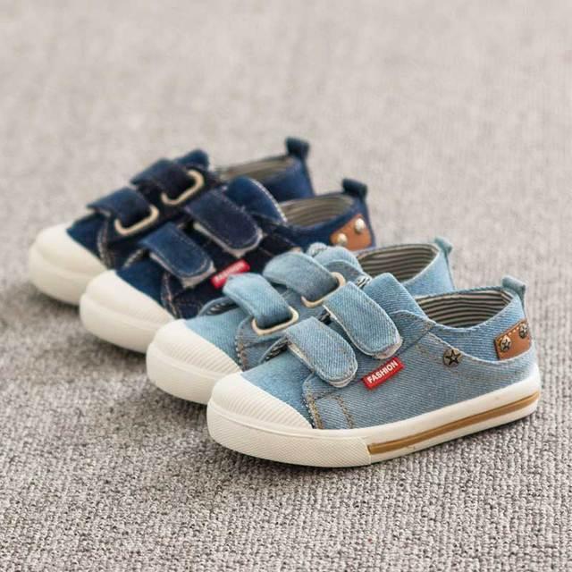 6bc550e7405 21-25 nieuwe lente herfst canvas kinderschoenen jongens sneakers merk  kinderen schoenen voor meisjes jeans