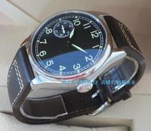 44mm PARNIS Asian 6497/3600 Gooseneck Mechanical Hand Wind movement Luminous men's watch Mechanical watches 160