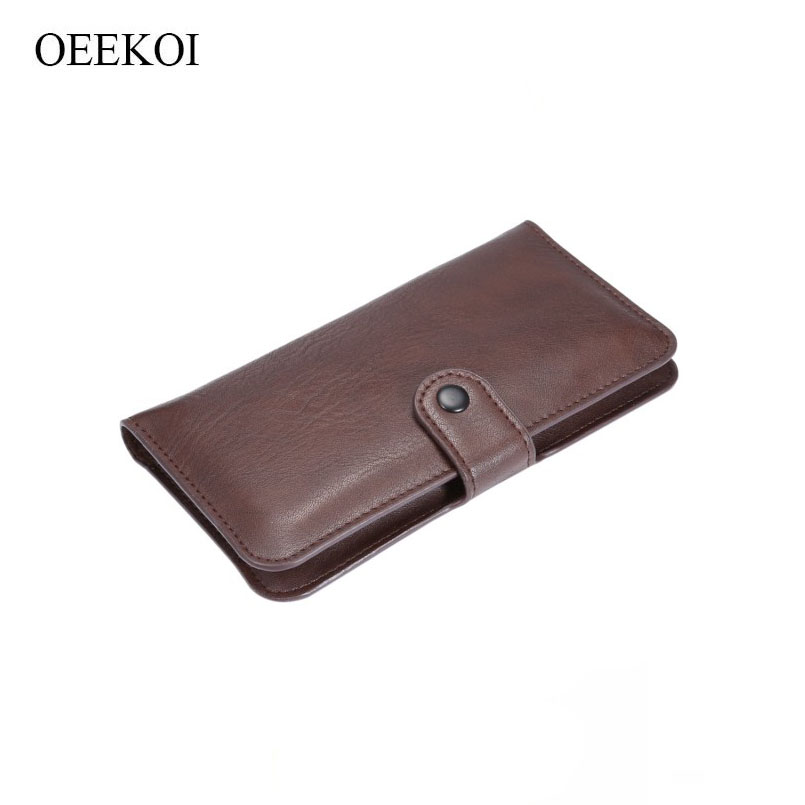 Oeekoi Рисунком Слона кошелек кожаный чехол и держатель карты для Motorola Moto X Force/Droid turbo 2 чехол для телефона