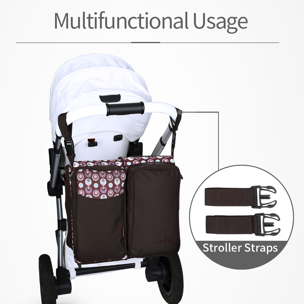 Diaper Bag Mummy Maternity Nappy Bags Large Capacity Baby Diaper Bags Travel Backpack Nursing Bag Baby Care Outside Baby Bed стоимость