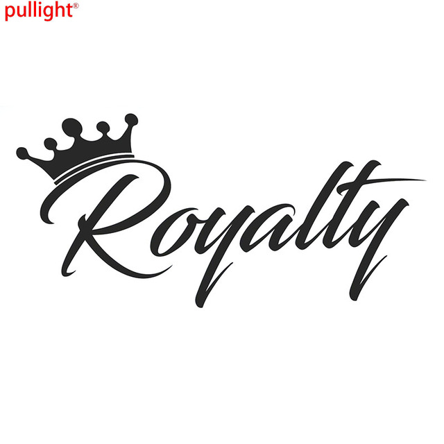 Royalty Sticker Crown Racing Jdm Funny Drift Car Wrx