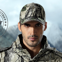 Outdoor Tactical Jungle Camo Military Cambat Peak Cap Hiking Mountaineering Bionic Camouflage Baseball Hat