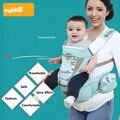 2 Em 1 Bebê Mochila/Hipseat Portador de Bebê Ergonômico estilingue Respirável Carry Frente Para 3-36 Meses Infantil Envoltório Mochila Infantil