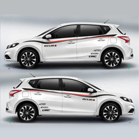 TAIYAO car styling sport car sticker For Nissan Tiida Mark Levinson car accessories and decals auto sticker