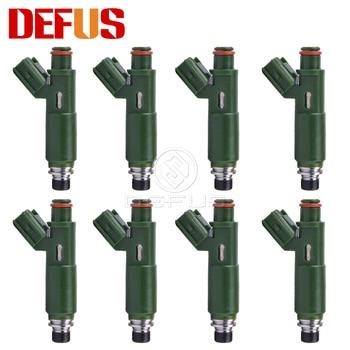 DEFUS 8x OEM 23250-22040 de los inyectores de combustible para Toyota Celica Corolla Matrix MR2 1.8L L4 Prizm Spyder Vibe 1ZZFE 23209-22040