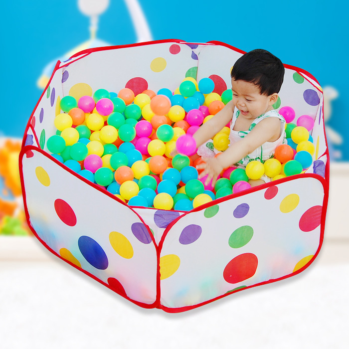 Hot New The Cow Children Tent Game Ball Pits Pool Foldable Children Ball Pool Outdoor Fun Sports educational toys for children