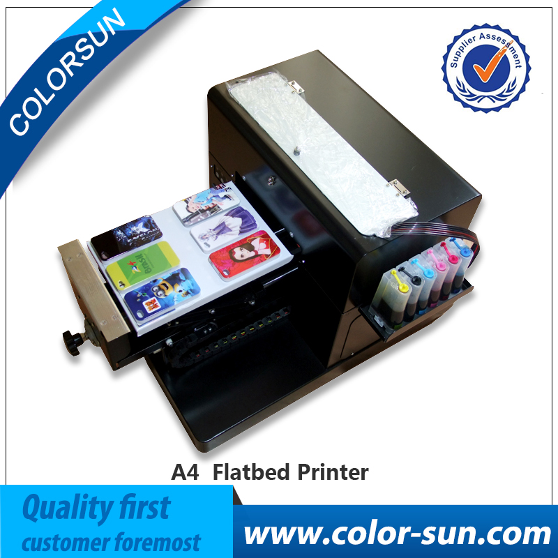 High quality A4 size Flatbed Printer Machine for Print T shirt Phone Case Pen printer plus size raw meat print t shirt