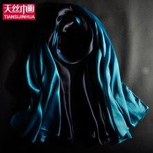 Hot Fashion Shawl Scarf Foulard Glitter Ombre Hijab Neck Warmer patchment Silk Scarf Women Girls Cape 60*180 Long Headband