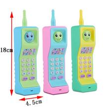 Купить с кэшбэком Quaint Music Mobile phone Baby Toys Early Educational Electric Sound Light Learning Toy Gifts