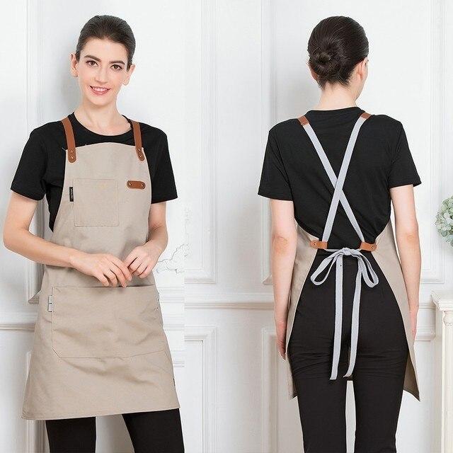 Unisex Fashion Short Apron  6