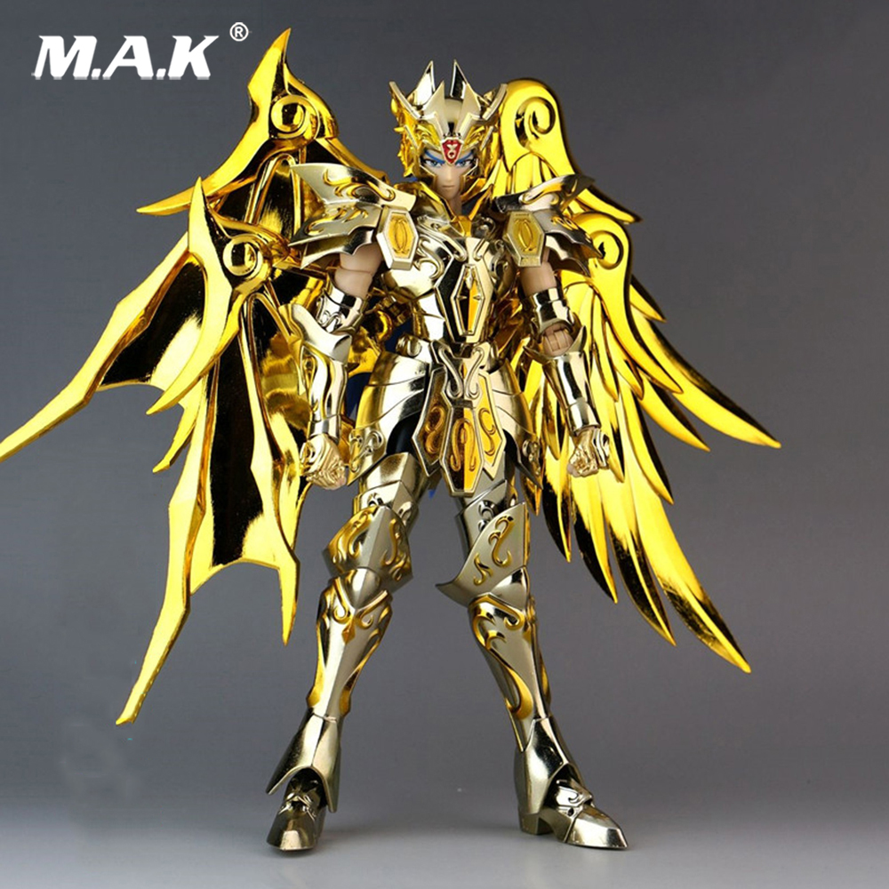 18CM Anime Gemini Saga Saint Seiya Soul of Gold Action Figures Saint Cloth EX Version God Armor Myth Cloth Gold action figure cmt in storelc model gemini saga kanon saint seiya myth cloth gold ex gemini saga kanon action figure