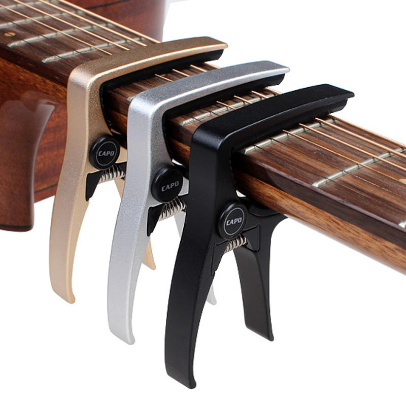 Electric Acoustic Guitar Capo for Acoustic Electric Guitars Capos Total Aluminium Material Classical Guitar Ukulele CAPO in Guitar Parts Accessories from Sports Entertainment
