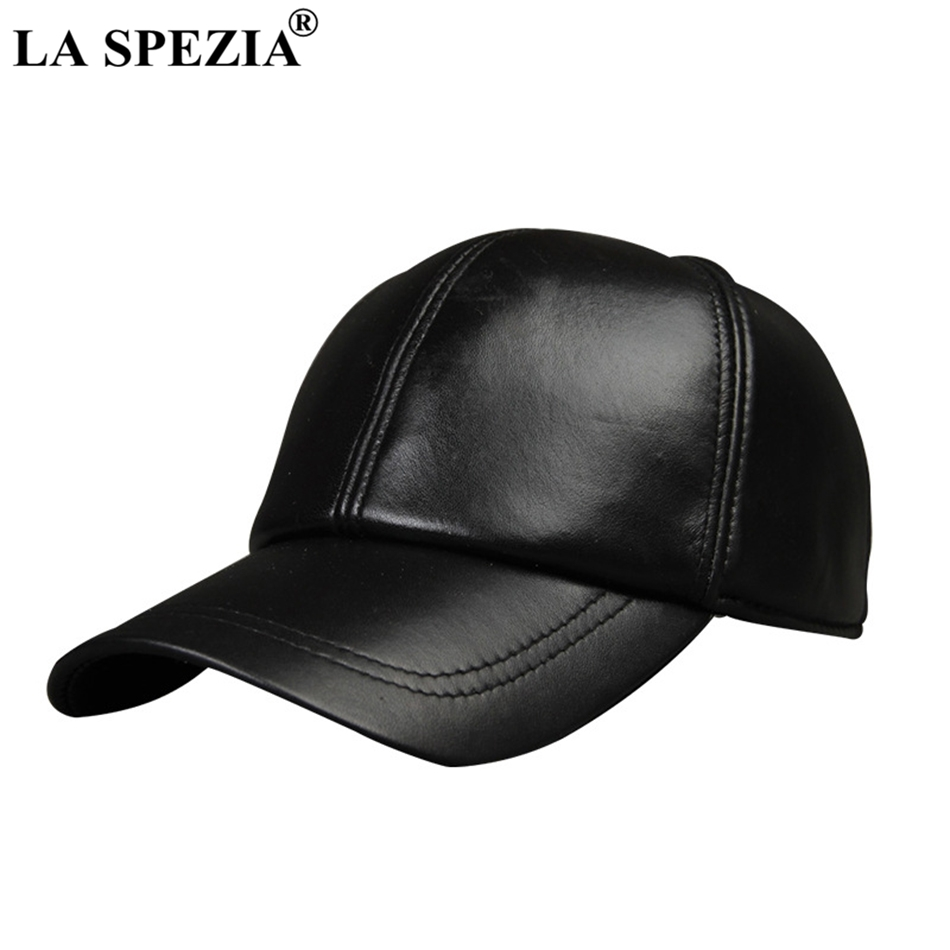 Feature  Leather Baseball Hats   Retro Snapback Hat   Real Leather Baseball  Cap 7ccfb773de8e