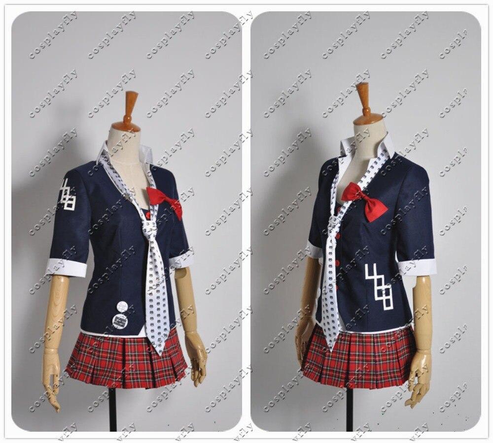 Danganronpa Dangan-Ronpa Junko Enoshima 8 Bit Symbol Mark Sign Cosplay Costume