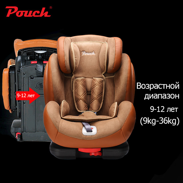 Online Shop Pouch child safety seat isofix 9 months - 12 years baby ...