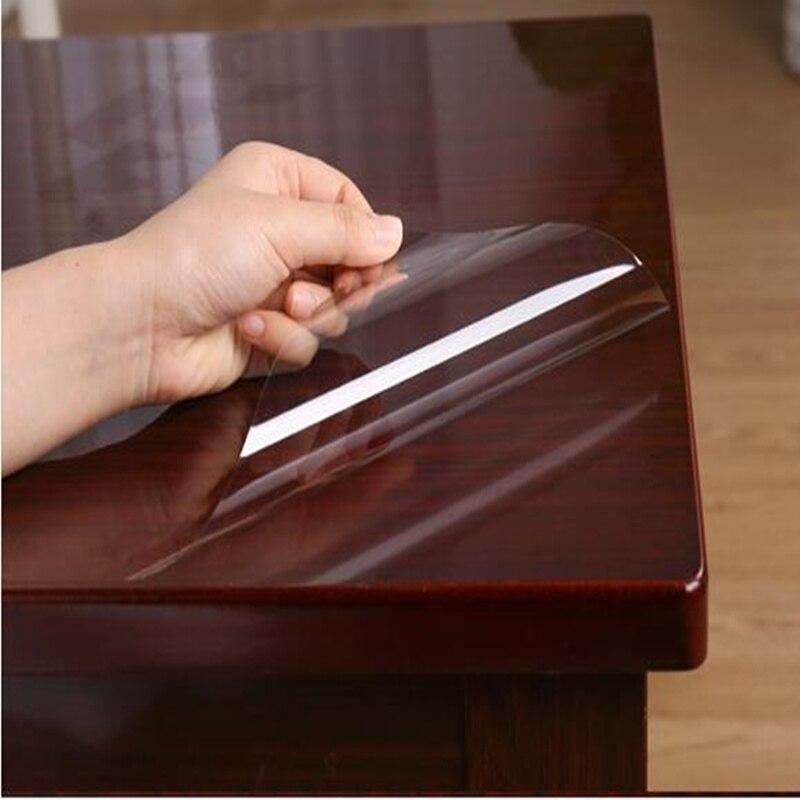 HOHOFILM 1.52x6 m 4 Mil brillant clair Table meubles Film protecteur autocollant Film résistant aux rayures résistant à l'huile 60 ''x 236.22''