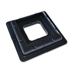 Zestaw ABS do montażu paneli słonecznych zestaw biały/czarny kabel do wejścia Gand idealny 4 jeden zestaw do przyczepy kempingowej samochód kempingowy RV