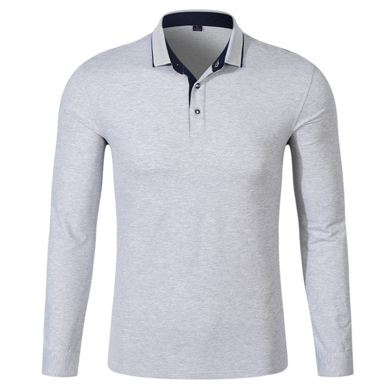2018 Hommes Polo Hombre Chemise Hommes Mode chemises à Col À Manches  Longues Casual Camisetas Masculinas Plus Taille S-XXXL Polos Sweat 00a1eced55f