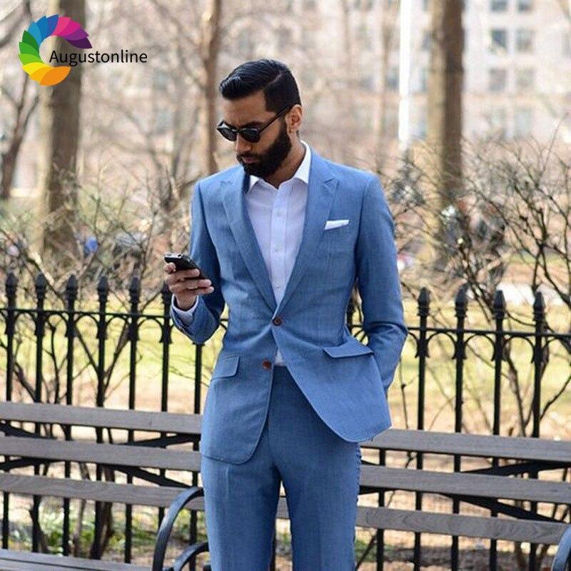 2 Men Suits Wedding Suits Costumes Mariage Homme Men's Wedding Suits Terno Masculino Costume Homme Mariage Men Suit with Pants Best Man Blazer Masculino Men's Suits Slim Fit Custom Made men suits (14)