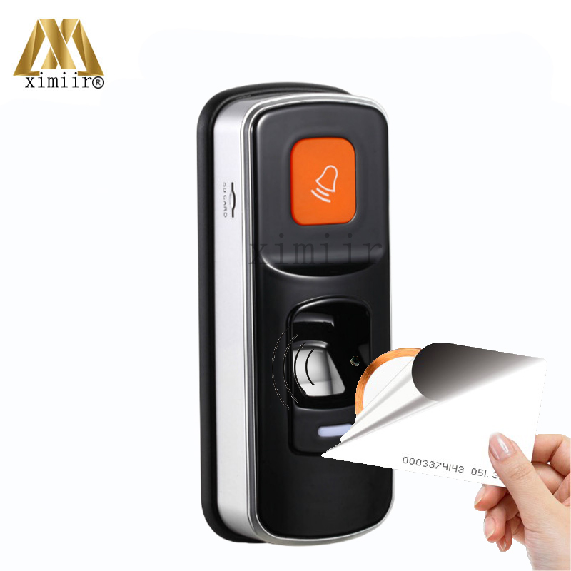 Standalone Fingerprint Access Control Fingerprint Reader Single Biometric Fingerprint Access Controller With RFID Card Reader m80 fingerprint and rfid card access controller standalone biometric fingerprint door access control system with card reader