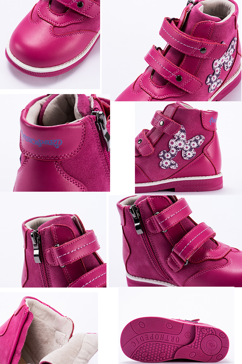 5e50183e1 Compre Princepard 2018 Nuevos Zapatos Ortopédicos Para Niños De ...